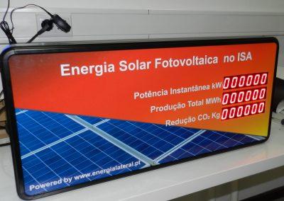 Indicador de energia fotovoltaica